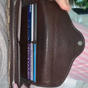 Gucci Bags - Classic Authentic Brown Canvas Gucci Wallet